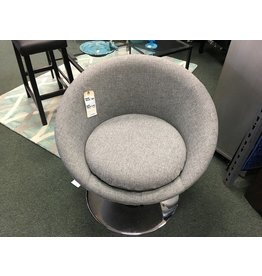 Overman Disc Base Astro Barrel Chair
