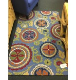 Fair Winds Denim Blue Medallion Area Rug