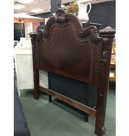 "Tall Ornate Queen Headboard 64""w x70""h"