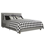 Maddie Upholstered Queen Size Bed