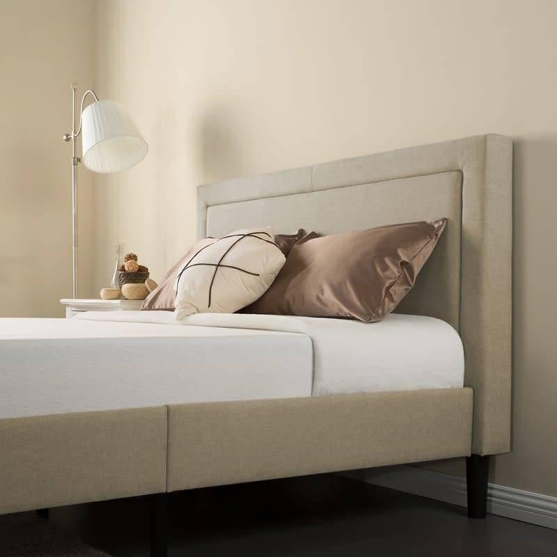 Mariel Queen Size Upholstered Platform Bed