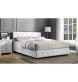 Dakota Queen Size Upholstered Platform Bed