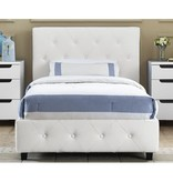 Salina Twin Size Upholstered Bed