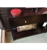 Morrisville Black 2drawer console table
