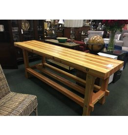 """Solid Wood Work Bench 8'x 2'x 2'9"""""""
