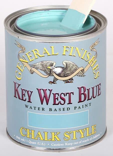 General Finishes QT CP Keywest Blue