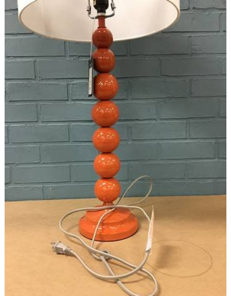 "Oakwood Blood Orange 31"" Table Lamp"