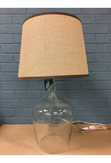Savoy Clear Glass Table Lamp