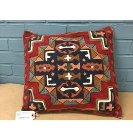 """Embroidered 16"""" Pillow Covers"""