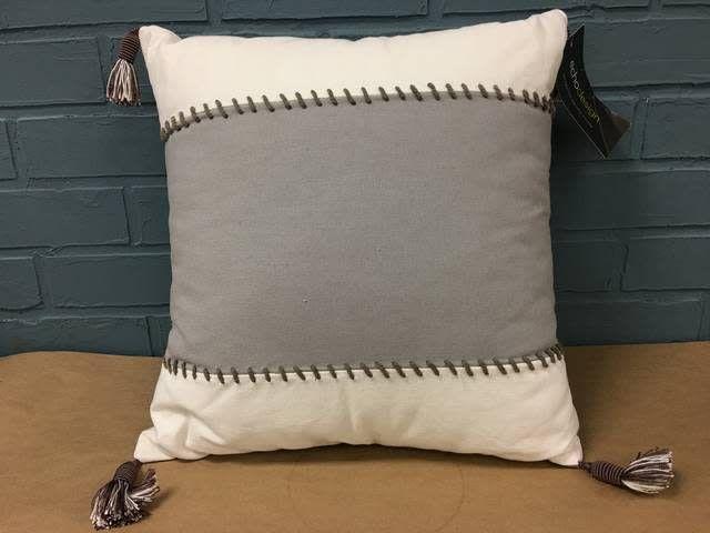 Dot Kat Cotton Throw Pillow