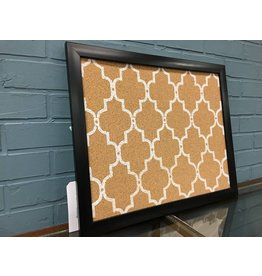 Alcott Hill® Quatrefoil Wall Mounted Bulletin Board