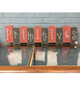 Primitives Block Sign