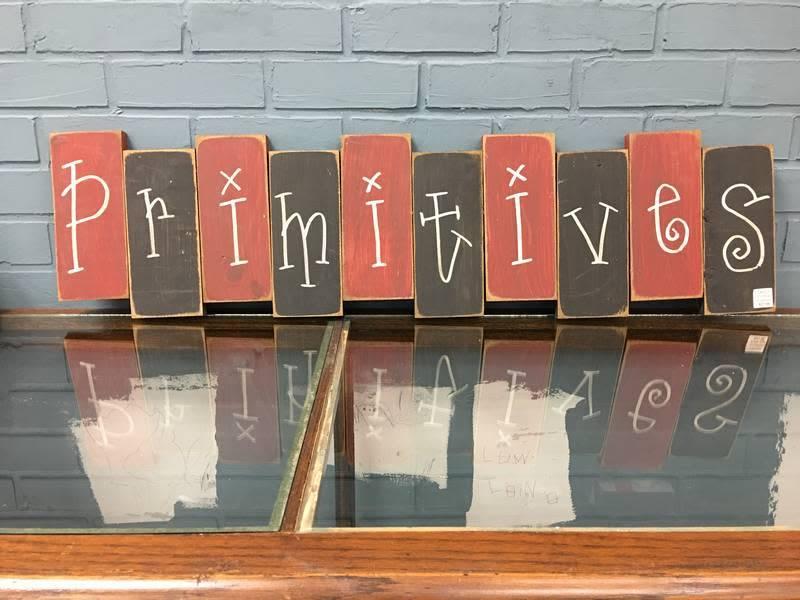 Primitives Block Sign