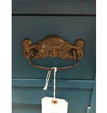 Teal and Oak Victorian Washstand