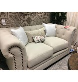 Dalila Chesterfield Loveseat