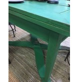 Hungarian Green X-based Table