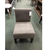 Arrandale Solid Slipper Chair -- Gray