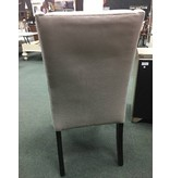 Chicago Wingback Gray Parsons Chair21x27x41