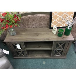 TV Stand w/ Two Doors and Two Shelves