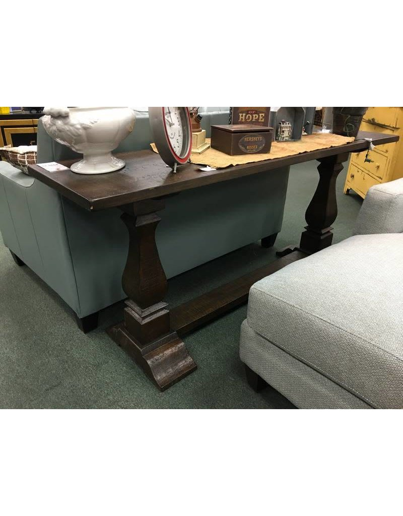 "Louise 72"" Rustic wood console table"