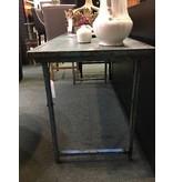Primitive / Industrial Blue Folding Table