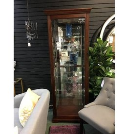 Logan Ryleigh Lighted Curio Cabinet