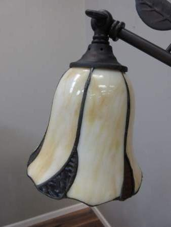 Dale Tiffany Stained Glass Desk Lamp