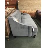 Abbyson Living Holloway Gray Velvet Sofa