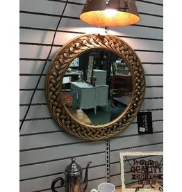 Safavieh Round Braided Chain Wall Mirror