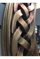 Round Braided Chain Wall Mirror