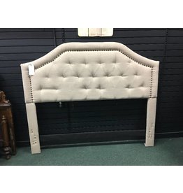 Lark Manor Djibril Scalloped Upholstered Panel Headboard