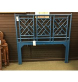 David Francis Furniture Chinese Chippendale Open-Frame Headboard
