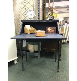 Petite Secretary Desk Painted w/ Drawer