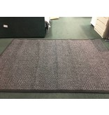 Alois Hand-woven Black/Gray Area Rug 6x9