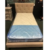 Twin Feliciano Upholstered Platform Bed