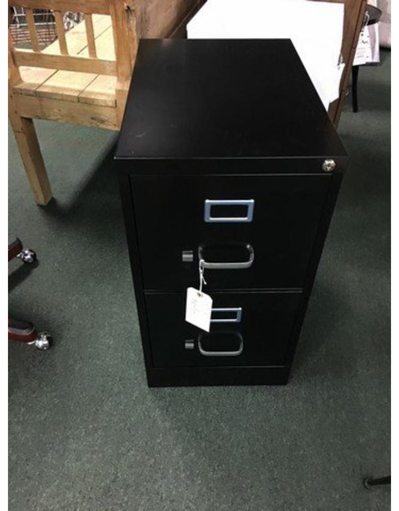 Great 2 Drawer Letter Size File Cabinet    Black ...