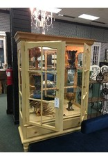 Butter Colored China Cabinet