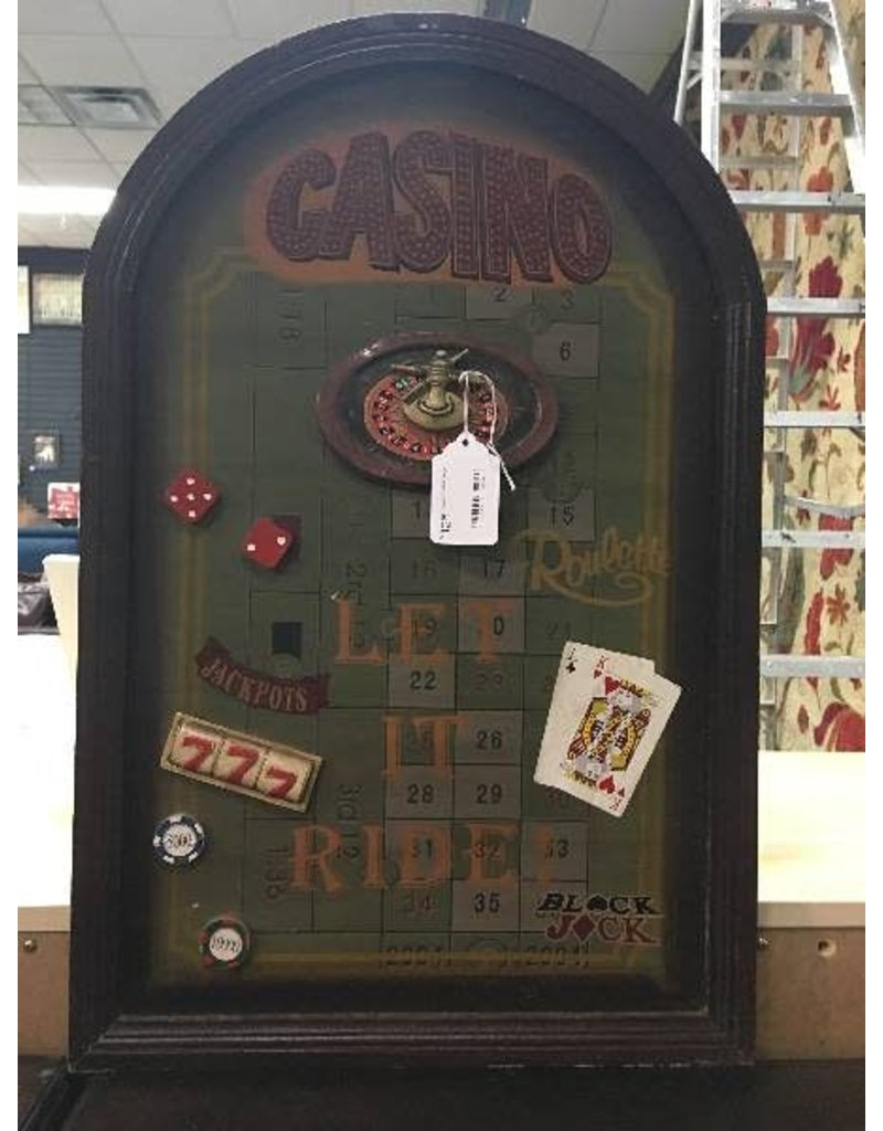 """Casino"" Wall Decor"