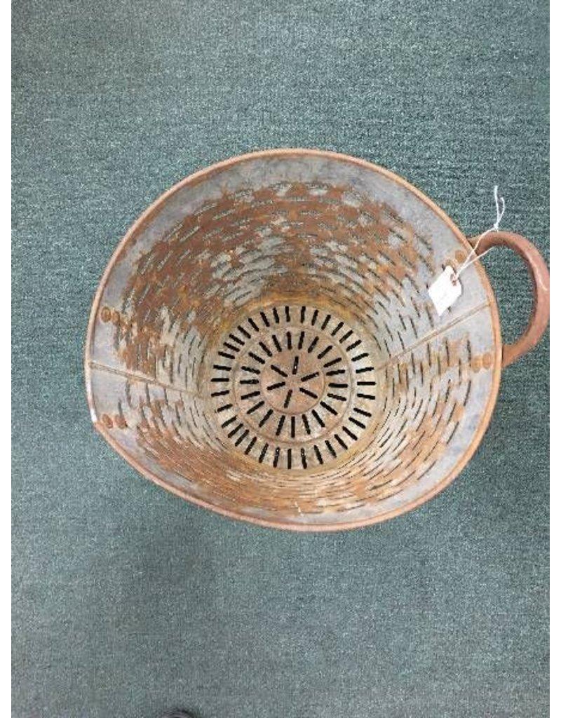 Vintage Olive Basket