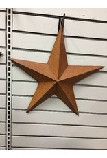 CWI Gifts Rusty Barn Star 18""