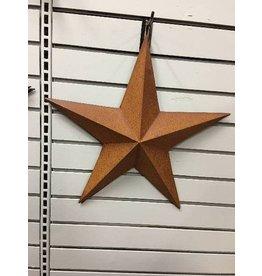 "CWI Gifts Rusty Barn Star 18"""