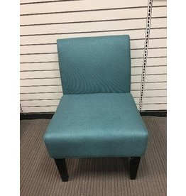 Veranda Teal Slipper Chair