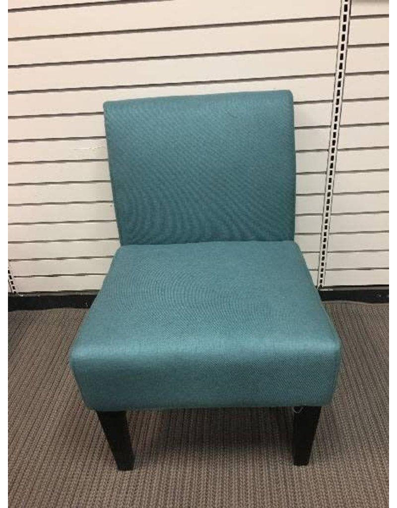 Veranda Teal Slipper chair
