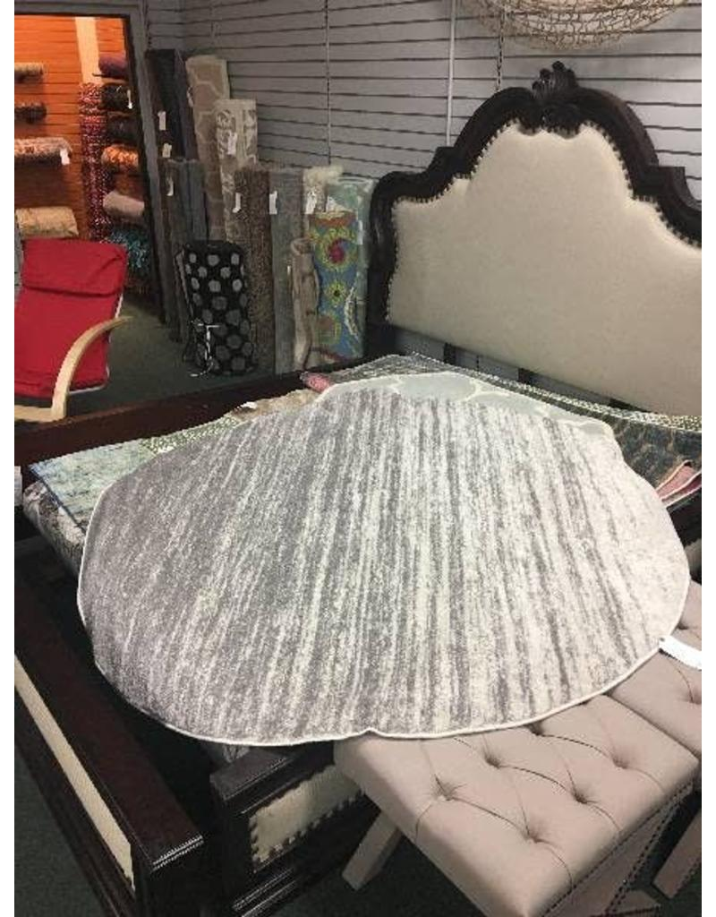Sizemore Ivory/ Silver 6' Round Area Rug