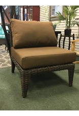 Darby Home Co Macon Armless Chair in Wheat