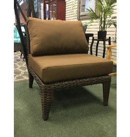 Macon Armless Chair in Wheat