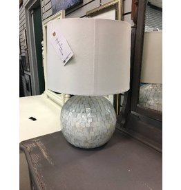Roanoke Mother of Pearl Table Lamp