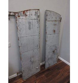 Pair of Metal Shutters from The Old Crow Distillery