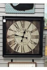 FRAMED OLD TOWN CLOCK