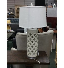 "Anthony California Anthony 29"" White Table Lamp"